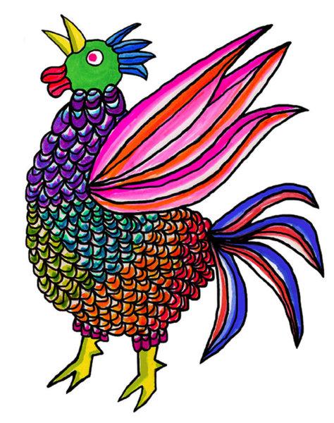 474x600 Chicken Wing Drawings Fine Art America