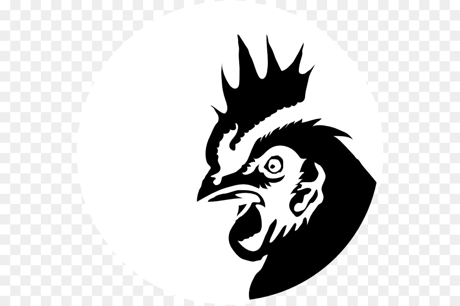 900x600 Download Chicken Silhouette Drawing Clip Art Rooster