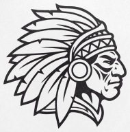 190x192 Indian Chief Mascot Cherokee Mascot Warrior Brave Small Buttons