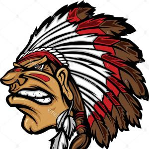 300x300 Native American Indian Chief Headdress Drawing Vector Soidergi