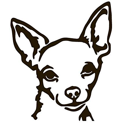 425x425 Xprovinyl Chihuahua Dog Vinyl Sticker Decal