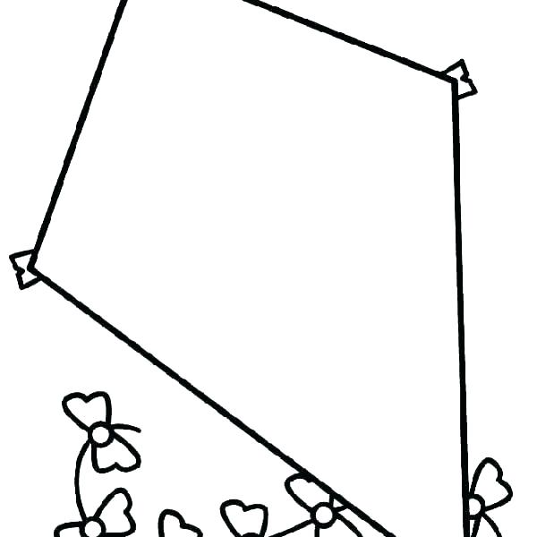 600x600 coloring pages kite kite coloring pages to print k for kite