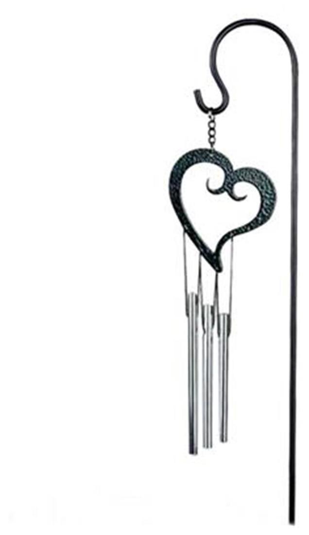 636x1100 buy magideal heart metal lucky bells chapel bells wind chimes