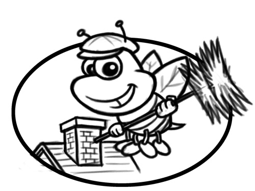 500x375 bumblebee chimney sweep cartoon bumblebee