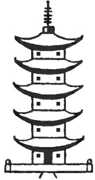 192x364 How To Draw A Cartoon Pagoda X Random X Japanese Pagoda