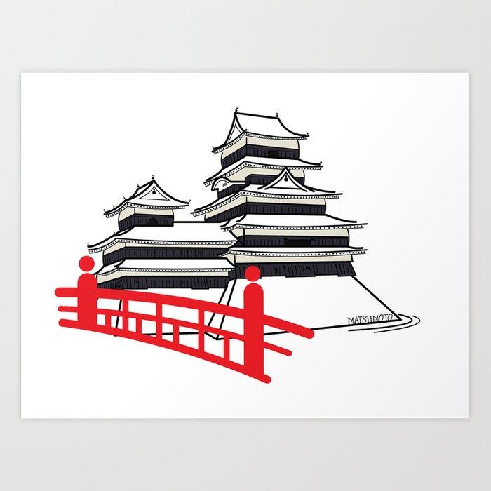 700x700 Icon O Tecture Matsumoto Castle Art Print