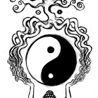 336x336 Buddha Drawing Art Black Image Charcoal Hand Statue Plan Cad