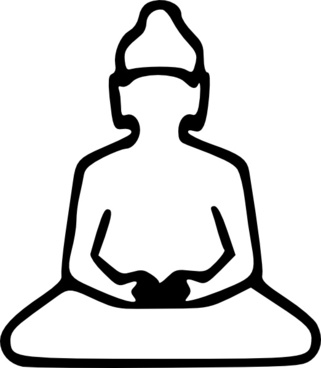 321x368 Buddha Vector Free Vector Download
