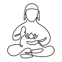200x200 Best Buddha Drawing Images Buddhism, Buddhist Art, Drawings