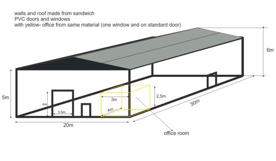 550x321 china steel framing pole barn kits and pole buildings