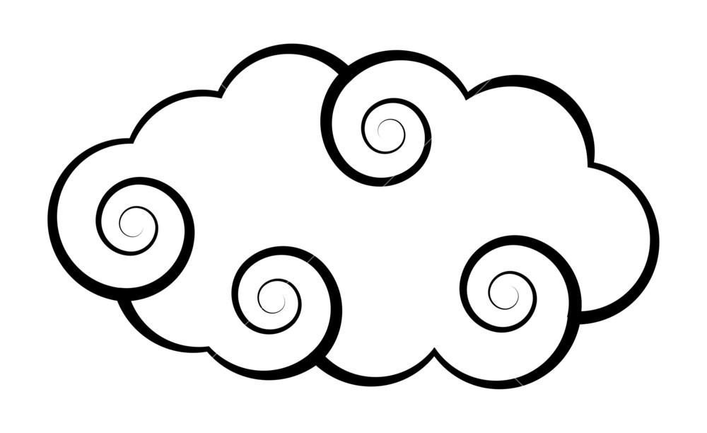 1000x612 Cloud Vector