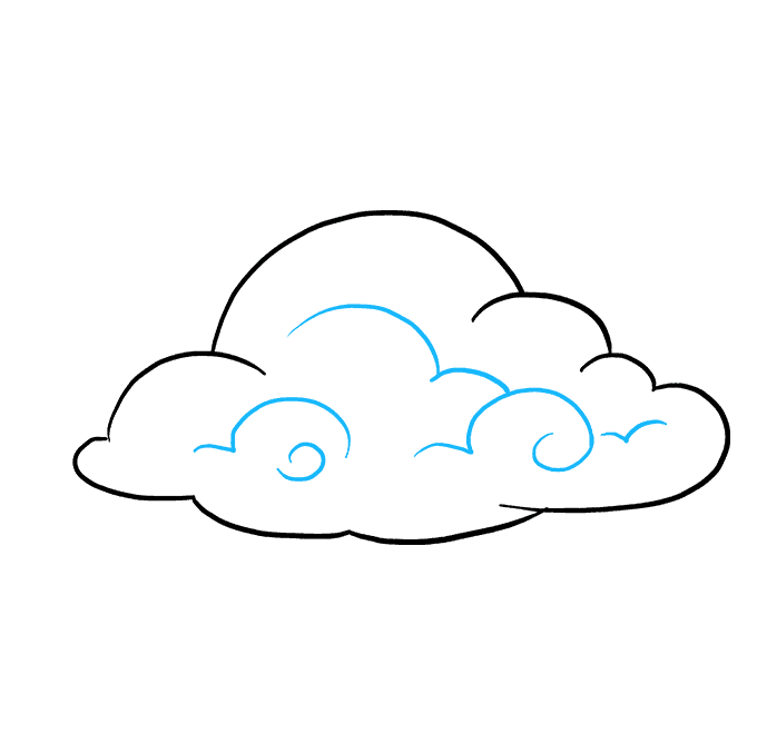 680x678 How To Draw Clouds