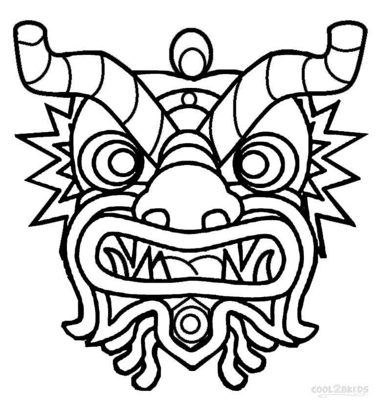 800x850 Chinese Dragon Coloring Pages Awesome Photos Collection Of Free