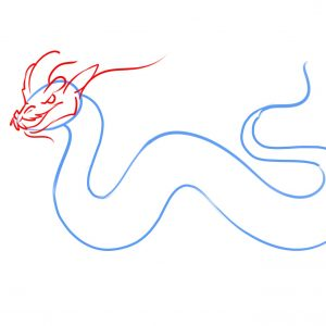 300x300 Drawing Of A Dragon Valid How To Draw A Simple Chinese Dragon
