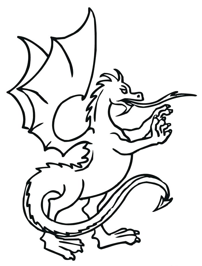 700x923 Chinese Dragon Drawing For Kids
