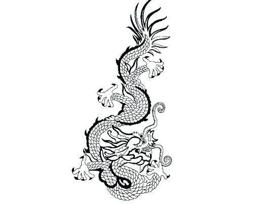Chinese Dragon Face Drawing | Free download on ClipArtMag