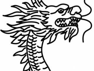 320x240 chinese dragon head pictures to print chinese dragon head coloring