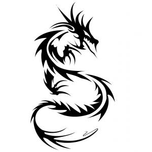300x300 chinese dragon head drawing hd vector of chinese dragon head