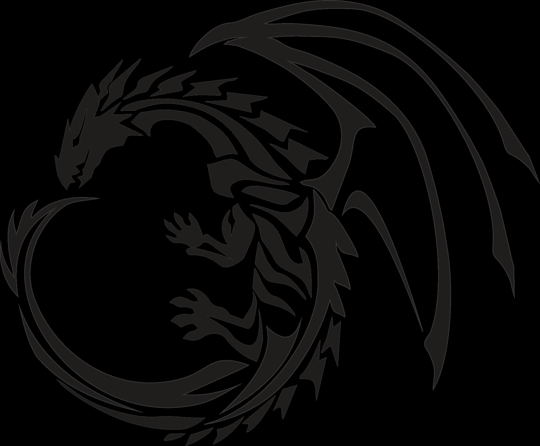 1828x1510 Circle Dragon Tattoo Inspiration