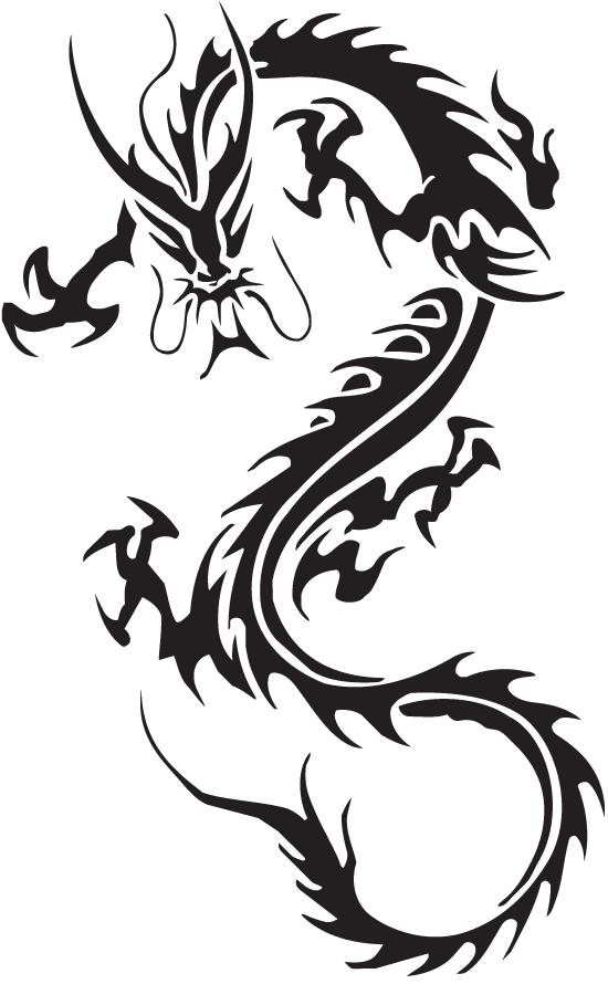 550x890 Tattoo Tribal Dragon Tattoos, Chinese