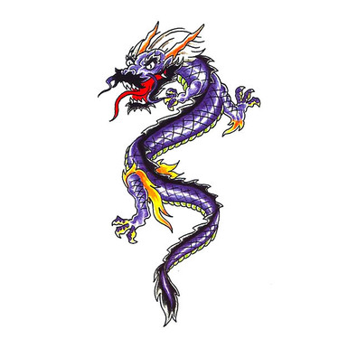 375x375 Chinese Dragon Tattoo Designs