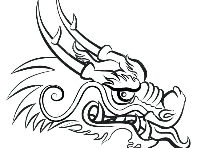 640x480 How To Draw A Chinese Dragon Step