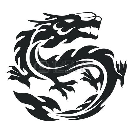 450x450 Simple Chinese Dragon
