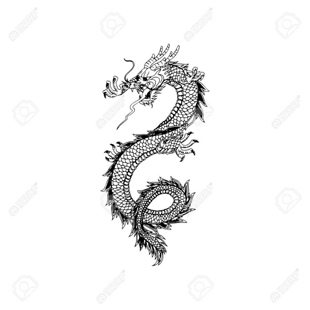 1024x1024 Top Dragon Tattoo Chinese With Design For Man Tattoo Design