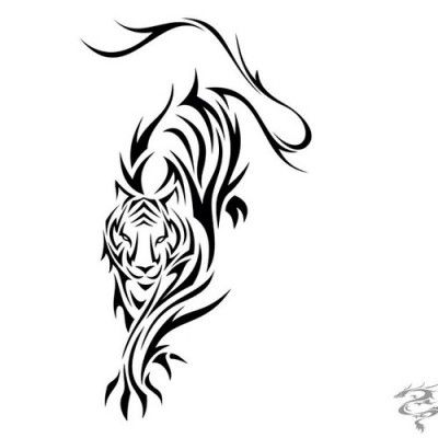 400x400 Fish Tattoos Clipart Chinese Tiger