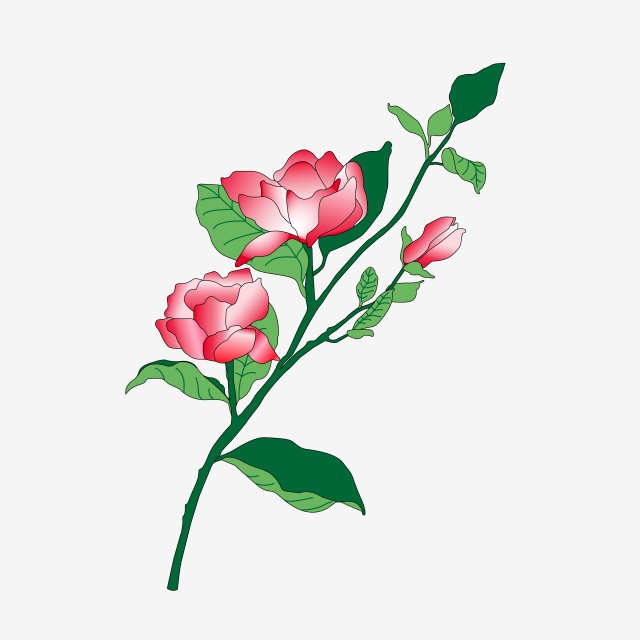 640x640 beautiful chinese style flowers, chinese style, blooming, line