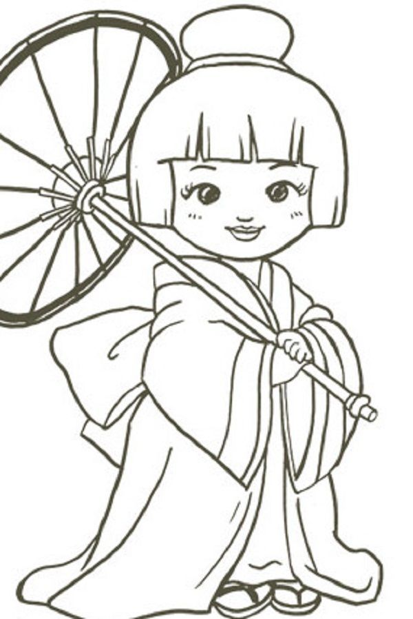 600x898 Chinese Drawing Doll For Free Download