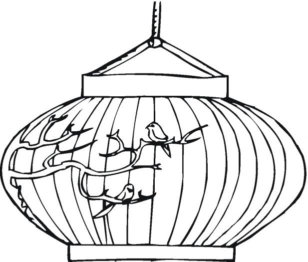 617x525 chinese new year lantern coloring pages chinese new yearlunar