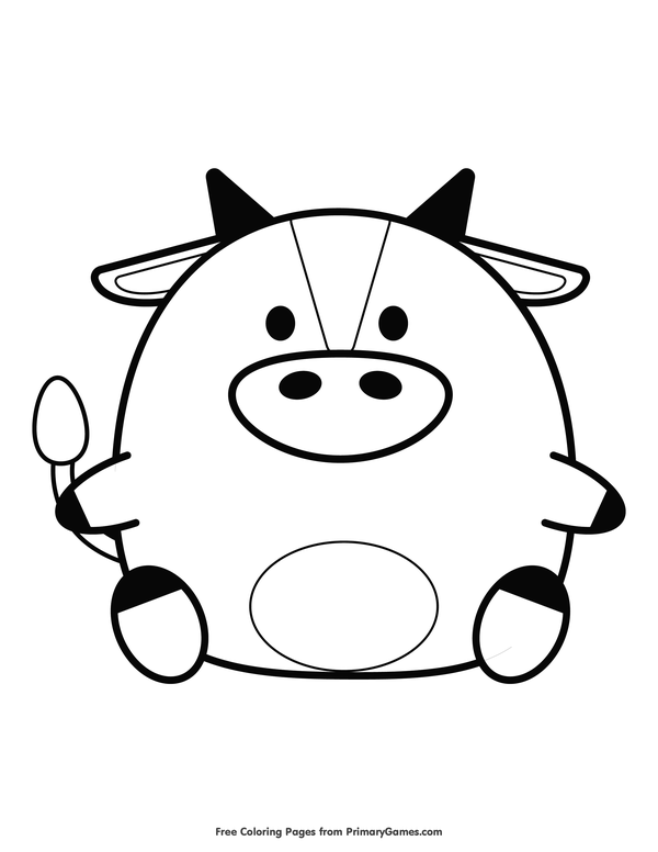 600x776 Ox Drawing Chinese New Year For Free Download
