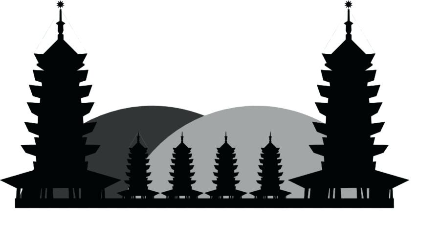 900x460 chinese pagoda vector collection of pagodas ancient temples