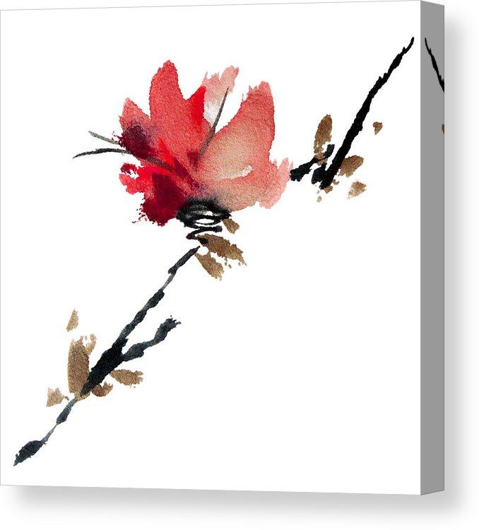 678x750 Sakura Tree Canvas Print Canvas Art