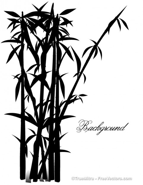 482x626 Exotic Bamboo Tree Illustration Of Chinese Style Download Free