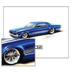 Chip Foose Car Drawings
