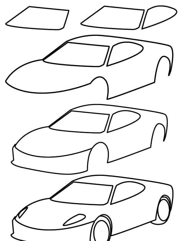 600x800 Chip Foose Cars Drawing