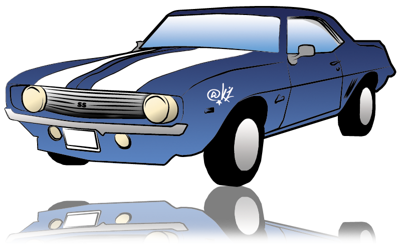 800x500 Collection Of Free Car Drawing El Camino Download On Ui Ex