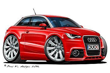 350x233 bmw turner racing car art cartoon in bmw