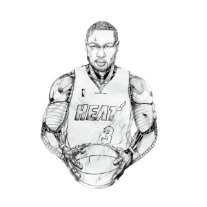 300x300 dynamic dwayne wade drawing