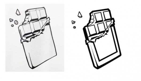 600x344 Chocolate Bar Drawing