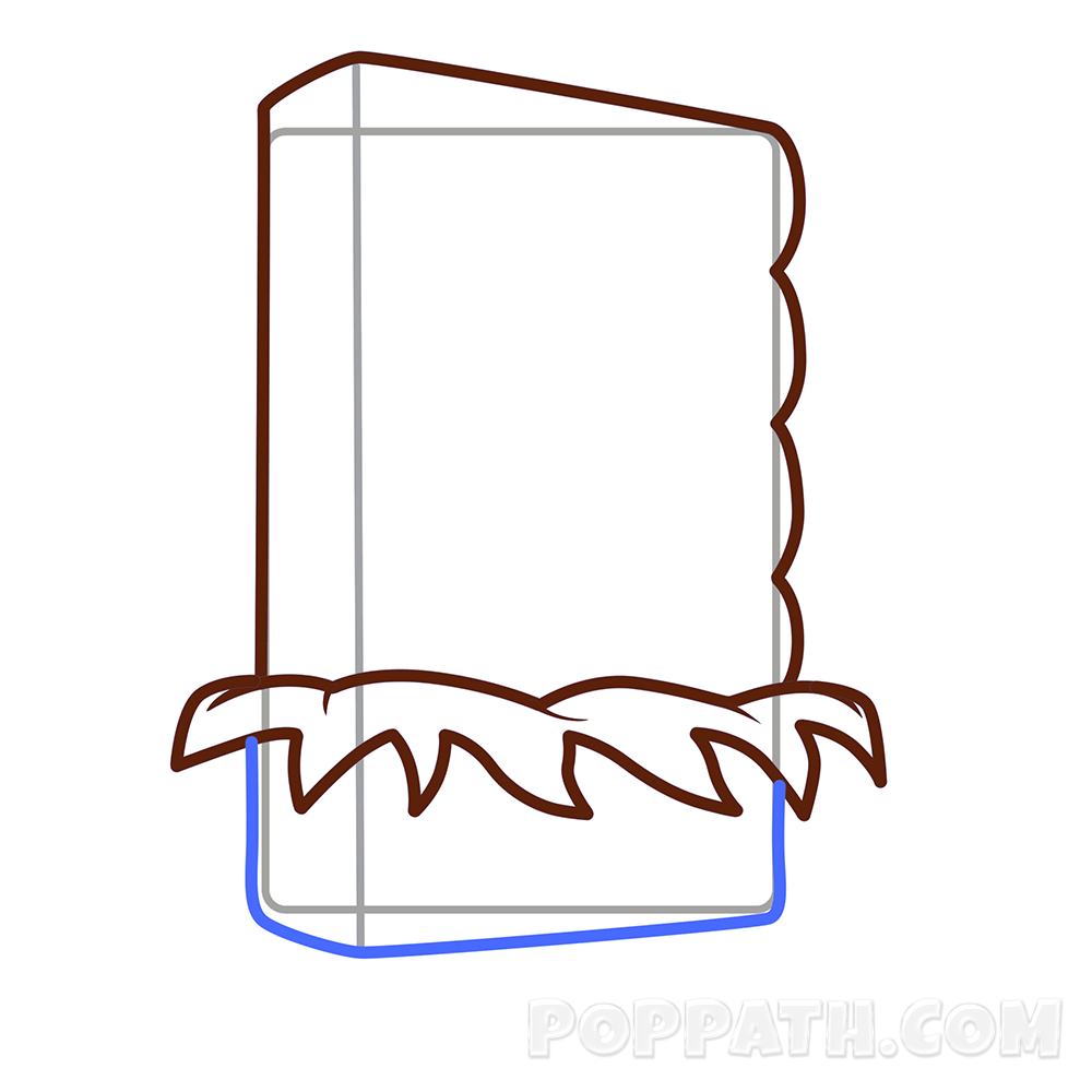 1000x1000 How To Draw A Candy Bar Pop Path
