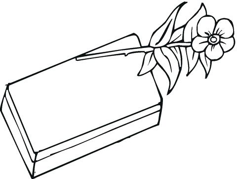 480x362 Candy Bar Coloring Pages Chocolate And Rose Coloring