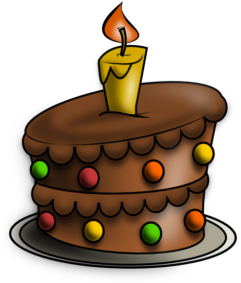 491x576 Birthday Cake Drawing Free Birthday Cake Clip Art Smileys