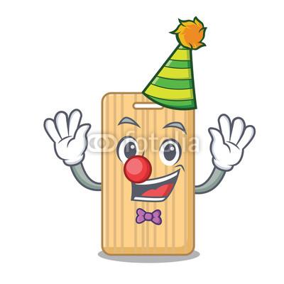 400x400 Clown Wooden Cutting Board Mascot Cartoon Buy Photos Ap Images