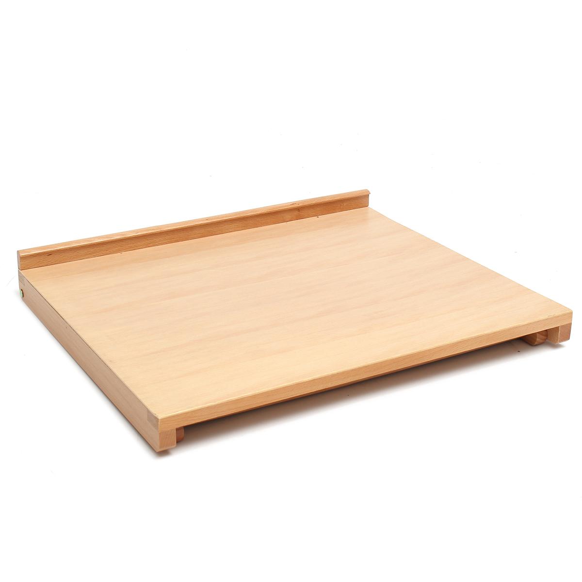 1200x1200 Adjustable Beech Wood Drawing Storage Board Fold Flat Sketching