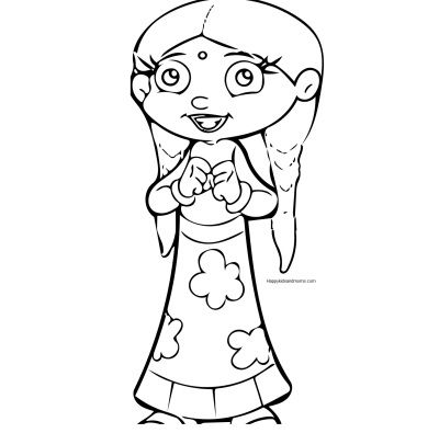 400x395 Chota Bheem Coloring Pages Chutki Coloring Pages Coloring