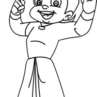200x200 Chota Bheem Printable Colouring Pages Murderthestout