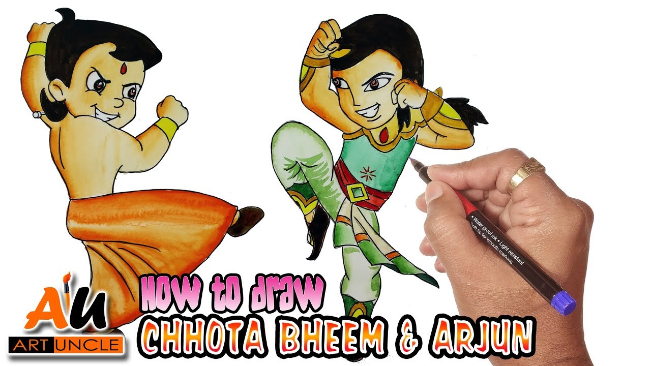 1280x720 Chhota Bheem Animation Cartoon